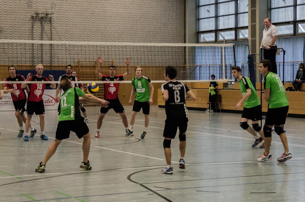 4. Spieltag Dritte Liga Nord – SV Preußen Berlin – KMTV Eagles