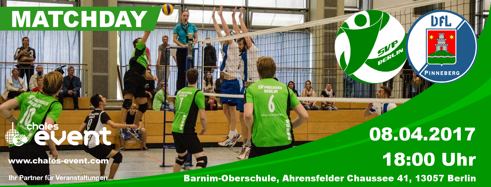 Heimspiel gegen den VfL Pinneberg
