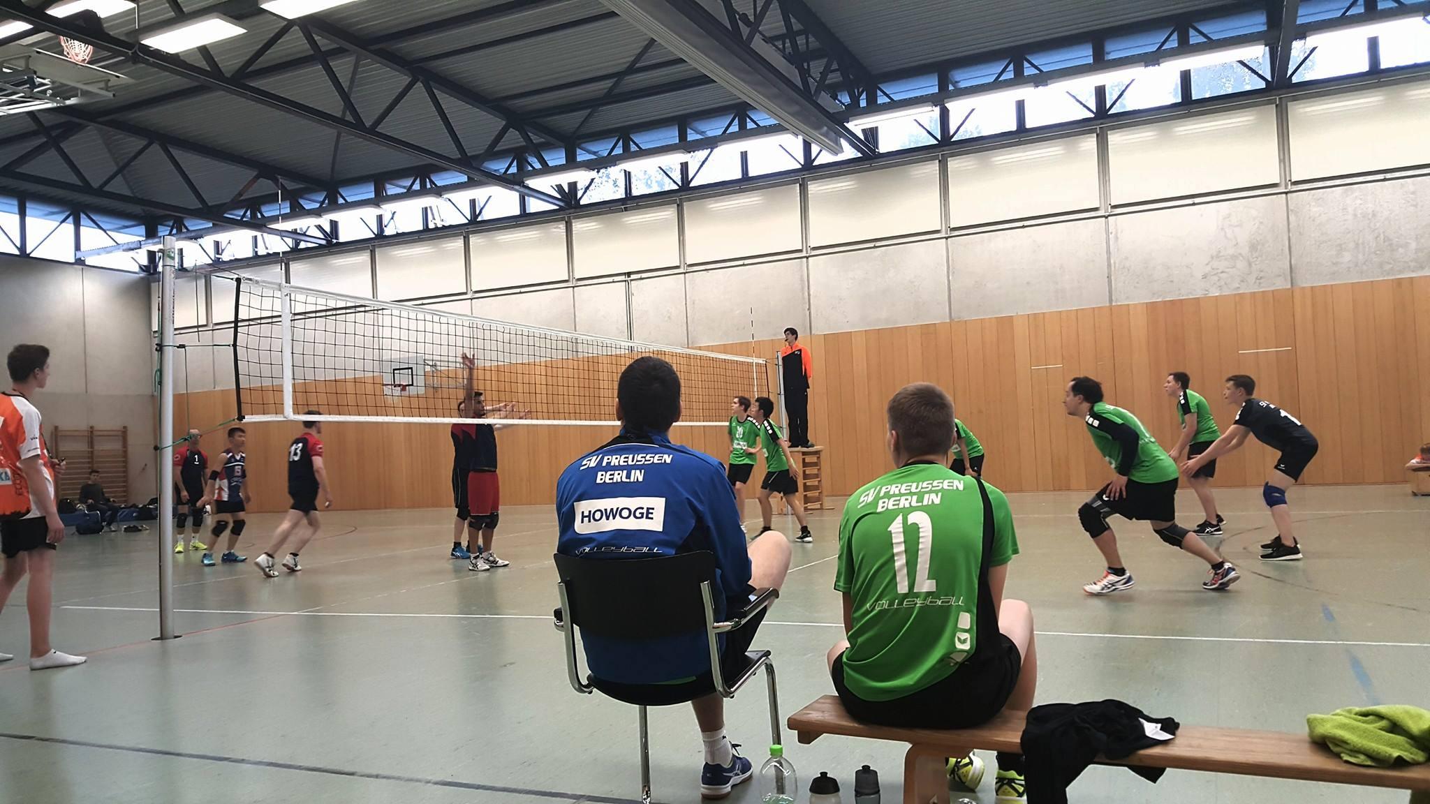1. Spieltag SVP III und SVP II