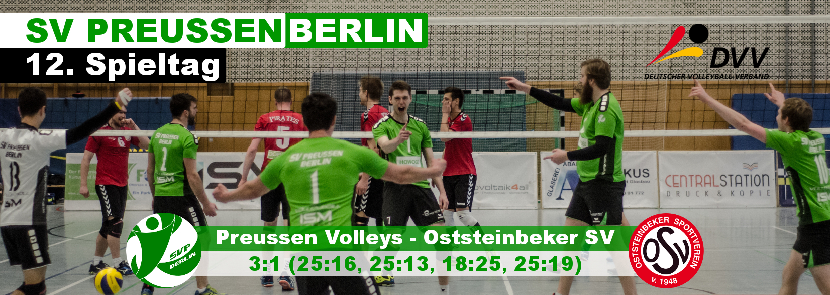 12. Spieltag gegen Oststeinbeker SV