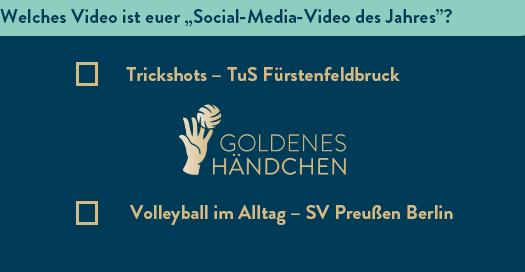 Abstimmung: Goldenes Händchen