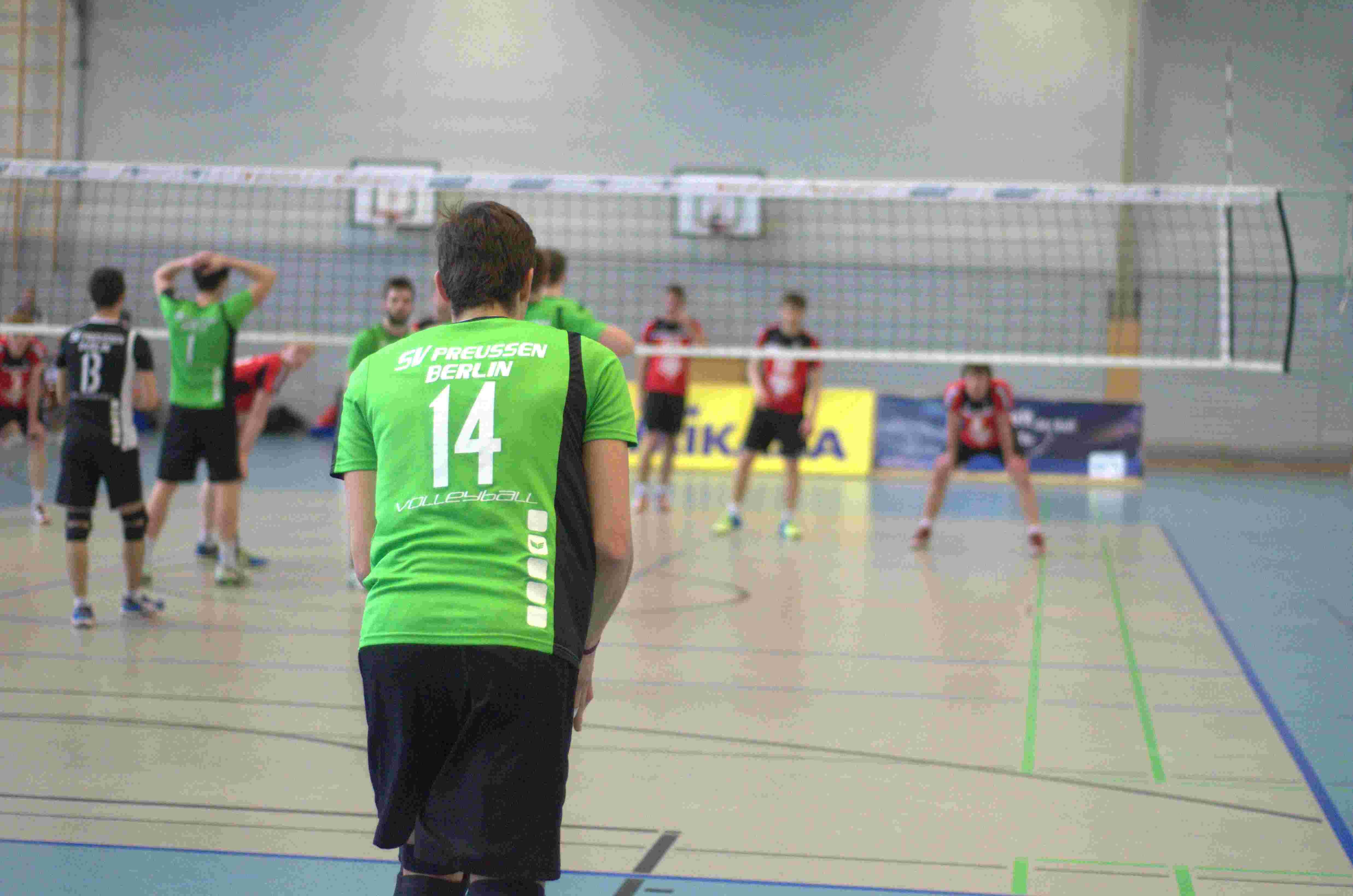 18. Spieltag Dritte Liga Nord – KMTV Eagles – SV Preußen Berlin