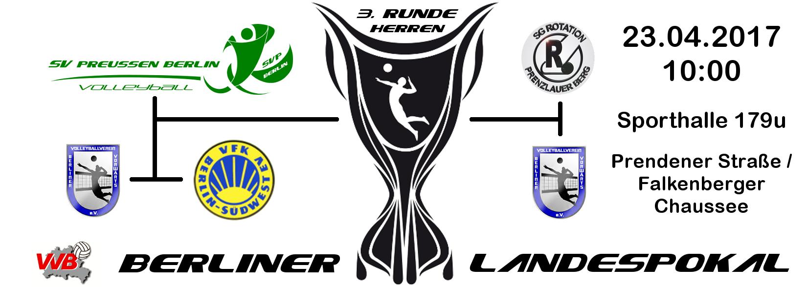 Finale Berliner Landespokal 2017