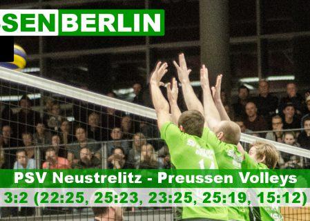 4. Spieltag gegen PSV Neustrelitz