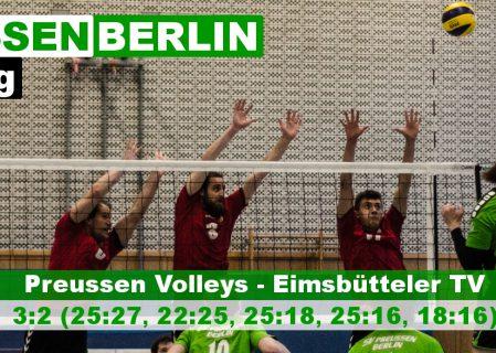11. Spieltag gegen Eimsbütteler TV