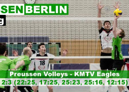 14. Spieltag gegen die KMTV Eagles