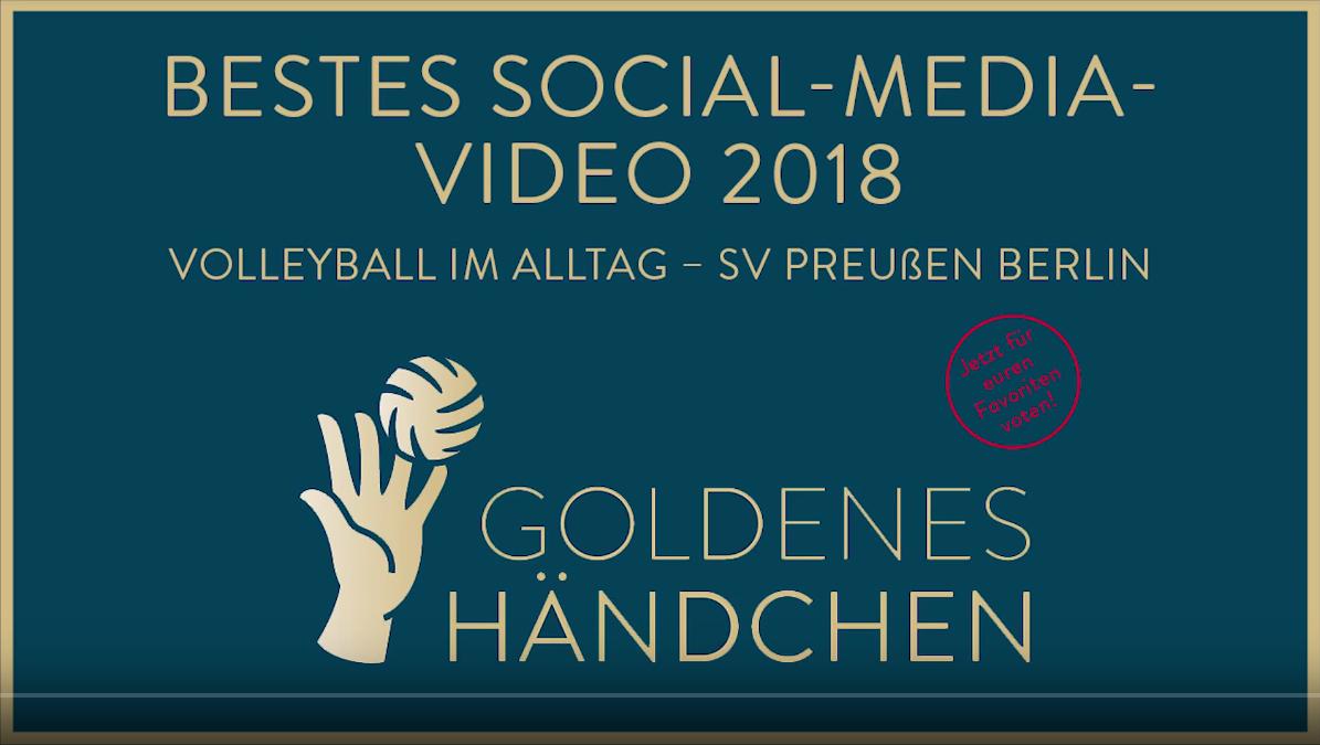 Das Goldene Händchen geht nach Berlin!