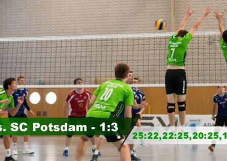 1. Spieltag gegen den SC Potsdam