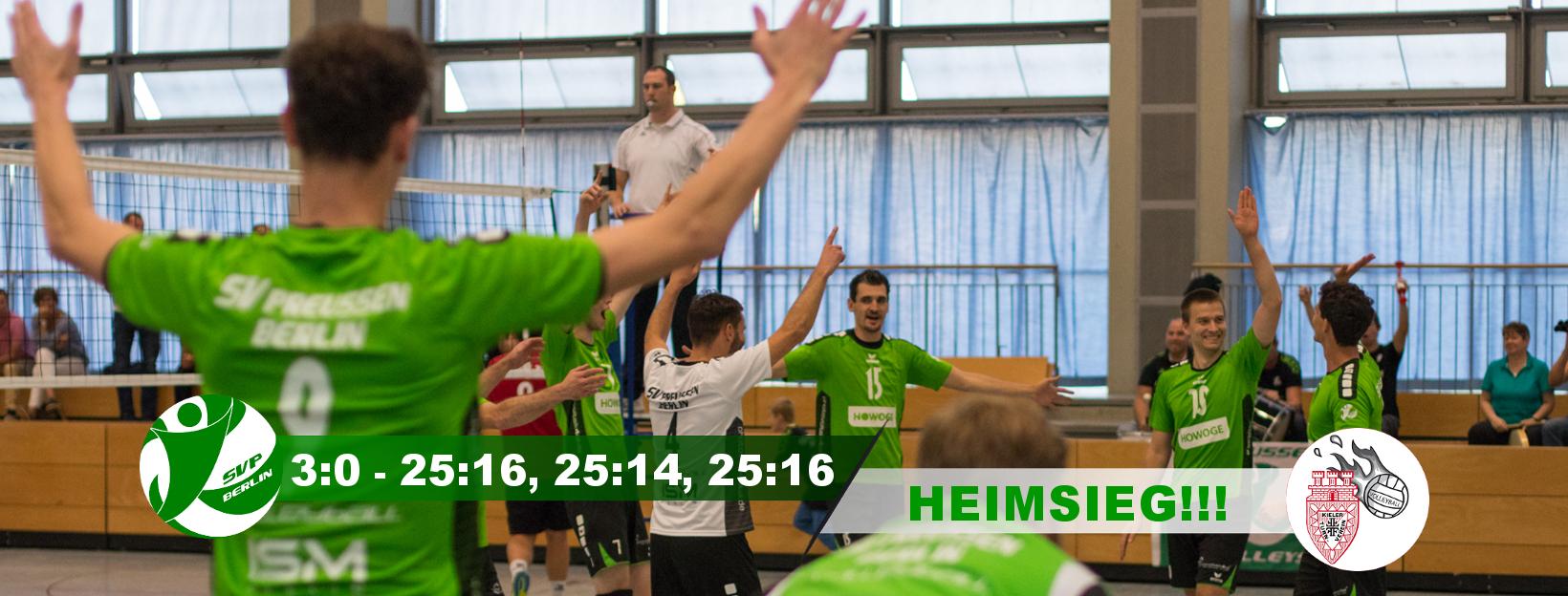 5. Spieltag gegen den Kieler TV 2
