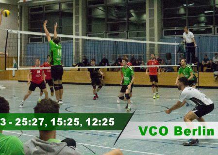 9. Spieltag gegen den VCO Berlin 2