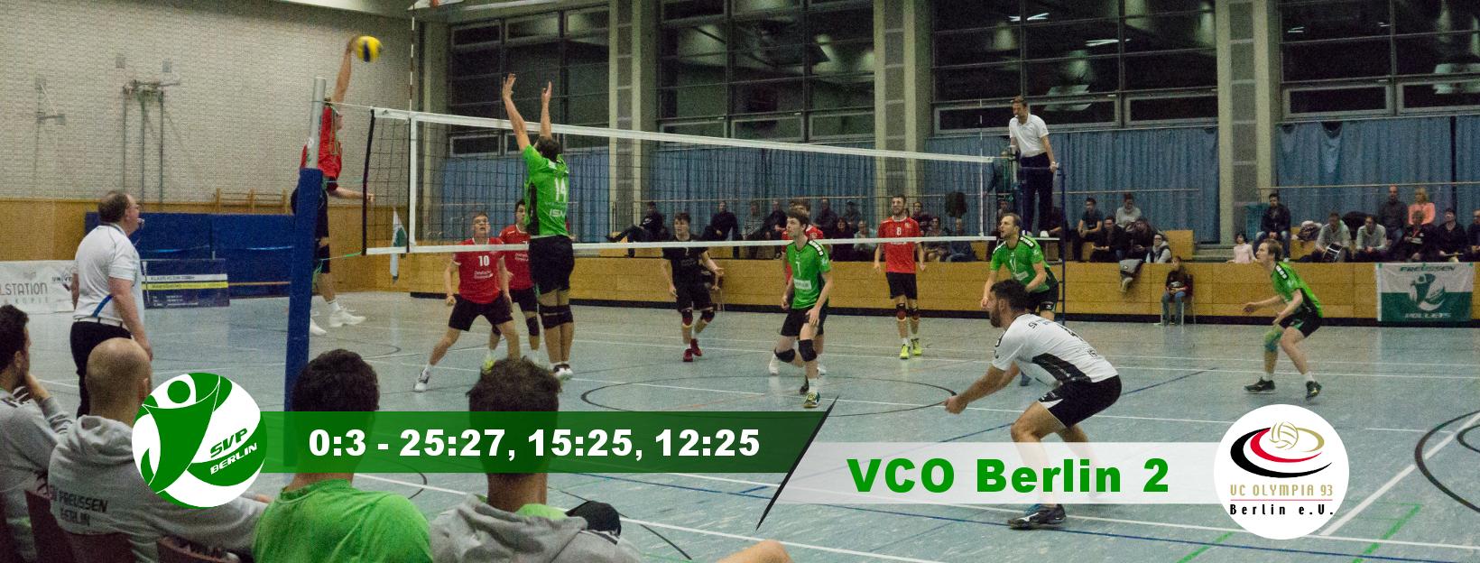 10. Spieltag gegen den VCO Berlin 2