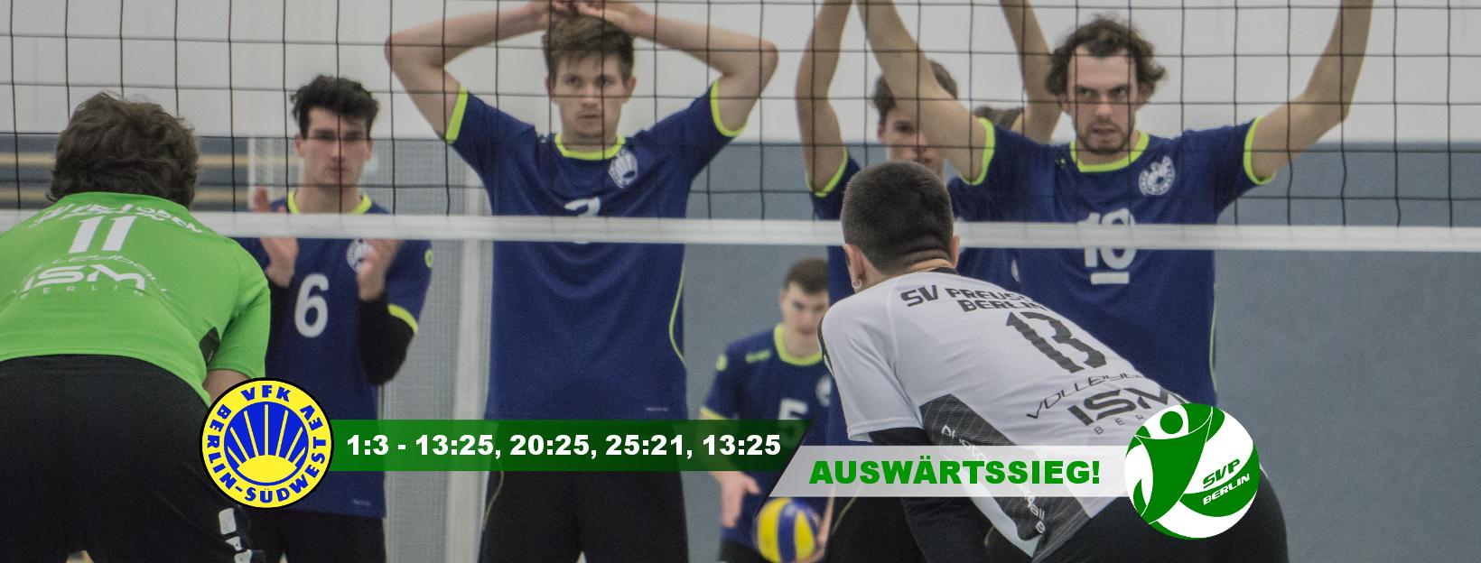 8. Spieltag gegen den VfK Südwest Berlin