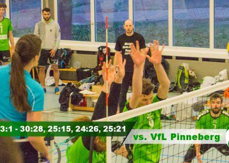 10. Spieltag gegen den VfL Pinneberg