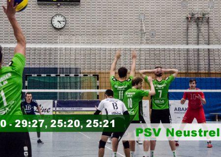 12. Spieltag gegen den PSV Neustrelitz