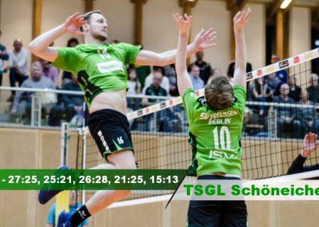 15. Spieltag gegen die TSGL Schöneiche