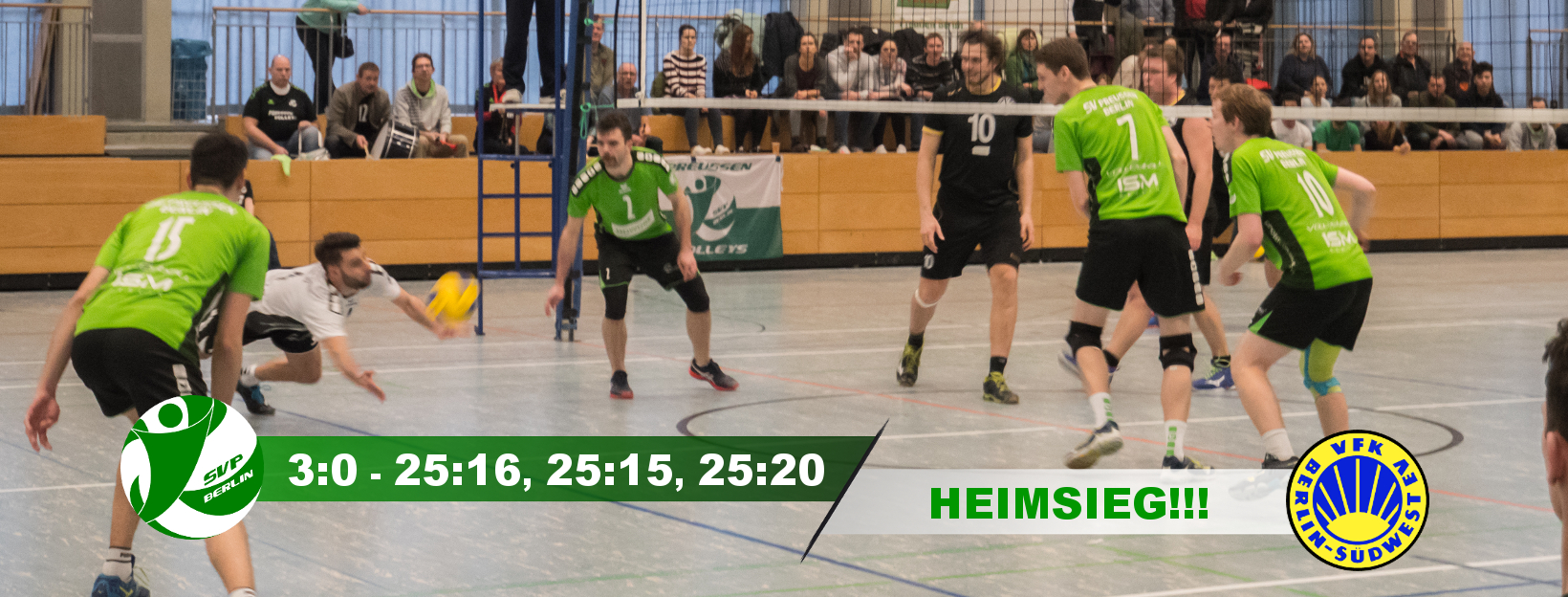 16. Spieltag gegen den VfK Südwest Berlin