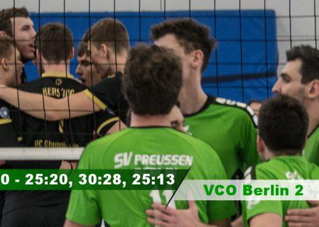 17. Spieltag gegen den VCO Berlin 2