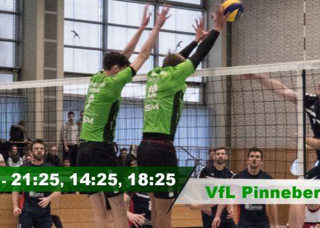 18. Spieltag gegen den VfL Pinneberg