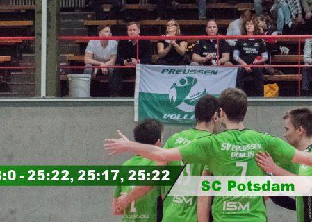 19. Spieltag gegen den SC Potsdam