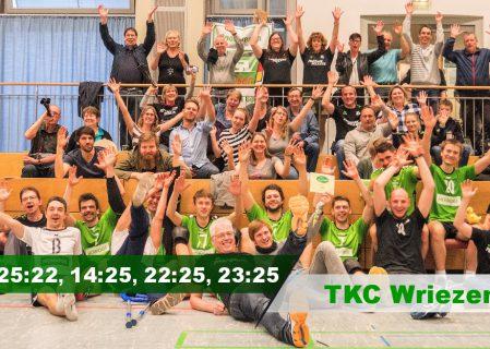 20. Spieltag gegen den TKC Wriezen