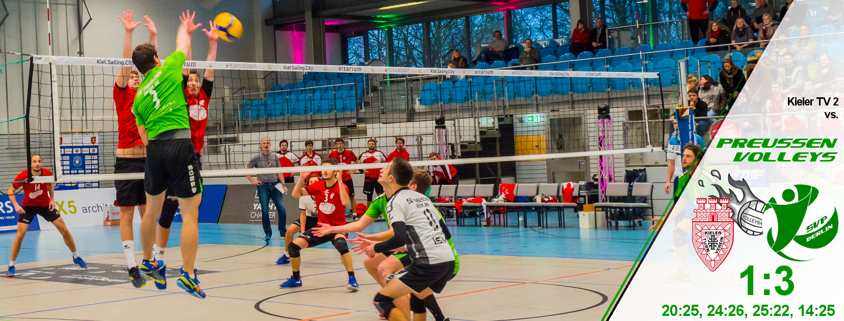12. Spieltag gegen den Kieler TV 2