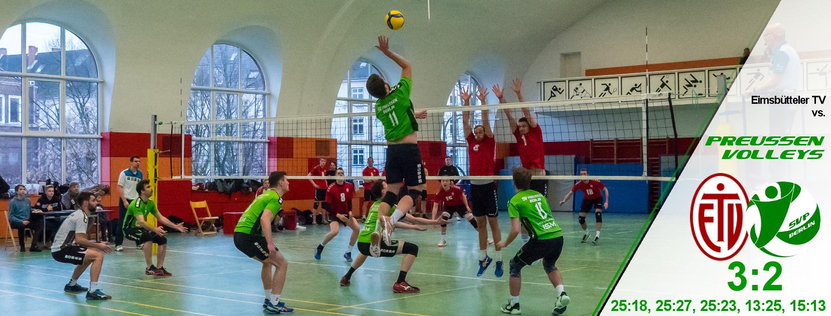 14. Spieltag gegen den Eimsbütteler TV